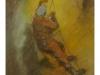 pastel                          Na rebríku